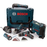 Bosch 108GSBGMLFIVE 10.8V 5 Piece Kit (3 x 2.0Ah Batteries) - 4
