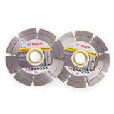 Bosch 061599749J LPP Diamond Blade Twin Pack 115mm - 2