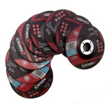 Abracs Proflex PF11530DM Metal Cutting Disc  with DPC Centre 115 x 3 x 22mm (Pack Of 10) - 3