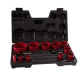 Abracs ABHSKIT17 Plumbers Holesaw Kit (17 Piece) - 2