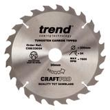 Trend CSB/23024 CraftPro Saw Blade 230mm x 30mm x 24T - 5