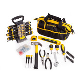 Stanley 51 Piece Screwdriver Set + 30 Piece Home Tool Kit with 100 Fixings - 6
