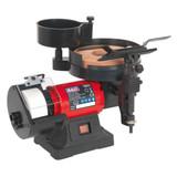 Buy Sealey SMS2107 Bench Grinder/Sharpener Wet & Dry ∅200/125mm 250w/240V at Toolstop
