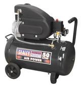 Buy Sealey SAC5020E Compressor 50ltr Direct Drive 2hp at Toolstop