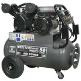 Buy Sealey SAC3503B Compressor 50ltr Belt Drive 3hp With Front Control Panel at Toolstop