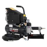 Buy Sealey SAC0610EKIT Air Nail/Staple Gun Kit Including Compressor, Hose & Nailer/Stapler at Toolstop