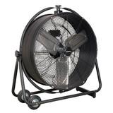 "Buy Sealey HVF24S Industrial High Velocity Orbital Drum Fan 24"" 240v at Toolstop"