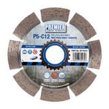 PDP DP16037 Diamond Blade P5-C12 5* General Purpose Building Material & Concrete 115mm x 22.2mm  - 2
