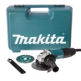 Makita GA4530KD 115mm Slim Angle Grinder with Diamond Blade 720W 110V - 3