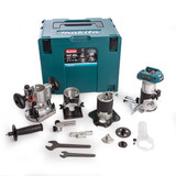 Makita DRT50ZJX3 18V LXT Router/Trimmer Body Only with 4 Bases & 2 Guides - 5