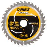 Dewalt DT99563 XR Extreme Runtime Circular Saw Blade 190mm x 30mm x 36T - 2