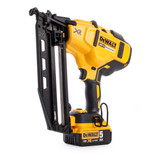 Dewalt DCN660P2 18V XR Cordless li-ion Brushless 2nd Fix Nailer 16Ga (2 x 5Ah Batteries) - 8