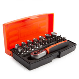 Bahco SL25 Metric Bit and Socket Set 1/4in Dynamic Drive (25 Piece) - 4