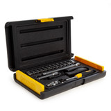 Stanley 2-85-582 Microtough Socket Set 1/4in Drive (17 Piece) - 1