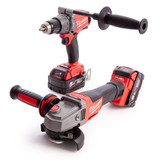 Milwaukee M18ONEPP2M-502B FUEL Thunderbolt Kit - Combi Drill & Grinder (2 x 5.0Ah Batteries) - 6