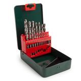 Metabo 6.27153 HSS-G Drill Bit Set For Metal 1 - 10mm (19 Piece) - 2