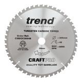 Trend CSB/CC30548 Mitre Saw Crosscutting Craft Blade 305mm x 30mm x 48T - 1