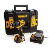 Buy Dewalt DCD709M2 18V XR Brushless Combi Drill (2 x 4.0Ah Batteries) at Toolstop