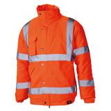 Buy Dickies SA22050 Hi-Vis Bomber Jacket Orange at Toolstop