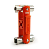 Buy Bahco MK5 5-in-1 Switch Cabinet Multi-Fitting Master Key at Toolstop
