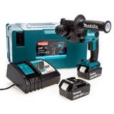 Makita DHR165RTJ 18V SDS Plus Rotary Hammer Drill 16mm (2 x 5.0Ah Batteries) 2