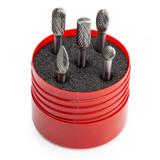 Dormer P88001 Solid Carbide Burr Set