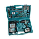 Makita DHP484STX5 Combi Drill with 101 Piece Accessory Set (1 x 5.0Ah Battery)
