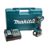 Makita DHP485STX5 18V Combi Drill with 101 Piece Accessory Set (1 x BL1850B Battery)