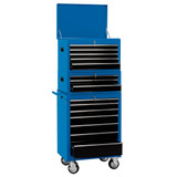 """Draper 04593 26"""" Combination Roller Cabinet & Tool Chest (15 Drawers)"""