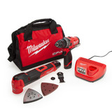 Millwaukee FPP2BA M12 FUEL Combi Drill & Multi Tool Twin Pack
