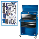 Draper 53219 Rolling Tool Chest & Comprehensive Tool Kit