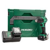 HiKOKI DV12DDJHZ 12V Peak Cordless Combi Drill (2 x 4Ah Batteries) 1