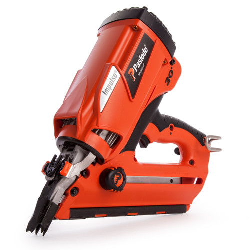 Buy Paslode IM350+ Cordless 7.2V 1st Fix Gas Framing Nailer (1 x Battery) 905900 at Toolstop