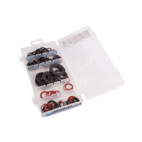 Buy BlueSpot 40536 Assorted Tap Reseater Washer Set (125 Piece) for GBP2.92 at Toolstop