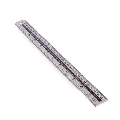 "Buy BlueSpot 33932 Aluminium Ruler 300mm (12"") at Toolstop"