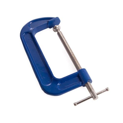 BlueSpot 10043 Fine Thread G-Clamp 6in / 150mm - 1