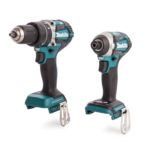 Makita DLX2181JX1 Brushless Cordless Twinpack Kit DHP484Z & DTD154Z (Body Only) - 4