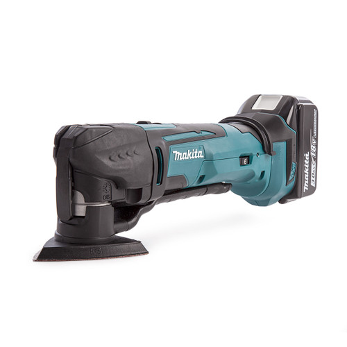 Makita DTM51 18V Multi-tool with DC18RC Charger in Makpac Case (2 x 3.0Ah Batteries) - 3