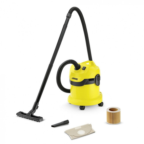 Karcher 1.629-763.0 WD2 Wet and Dry Vacuum Cleaner 1000W 12 Litres - 5