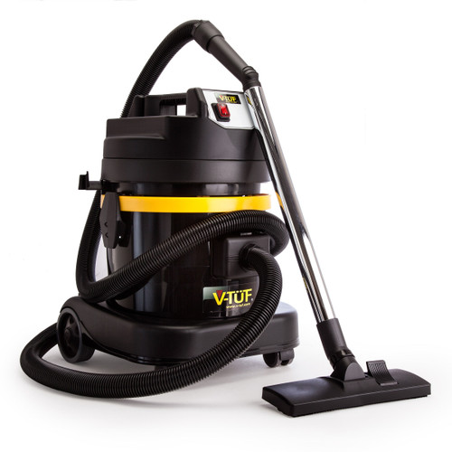 V-TUF VAC M Industrial Dust Only Vacuum with 10 Filter Bags 110V