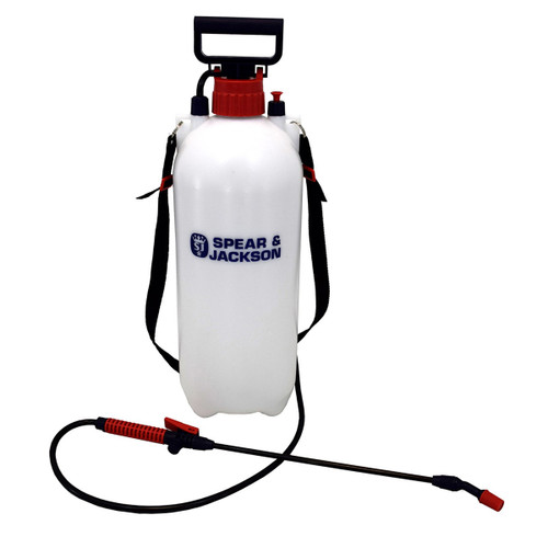 Buy Spear & Jackson 8LPAPS 8 Litre Pump Action Pressure Sprayer at Toolstop