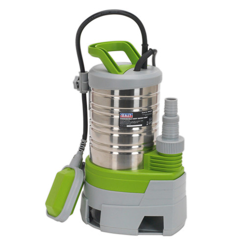 Buy Sealey WPS225P Submersible Stainless Water Pump Automatic Dirty Water 225ltr/min 240v at Toolstop