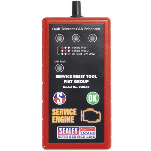 Buy Sealey VS8623 Service Reset Tool With Oil Degradation Function - Fiat at Toolstop
