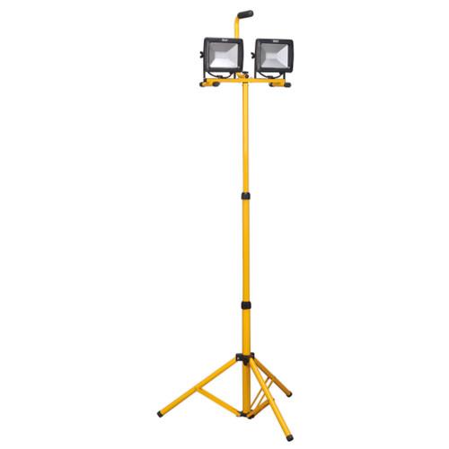 Buy Sealey LED105 Telescopic Floodlight 2 X 20w Smd Led 110v at Toolstop