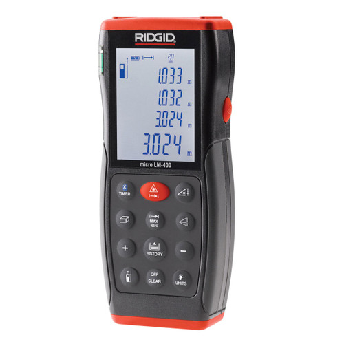 Ridgid LM-400 (36813) Advanced Laser Distance Meter (70 metres) - 1