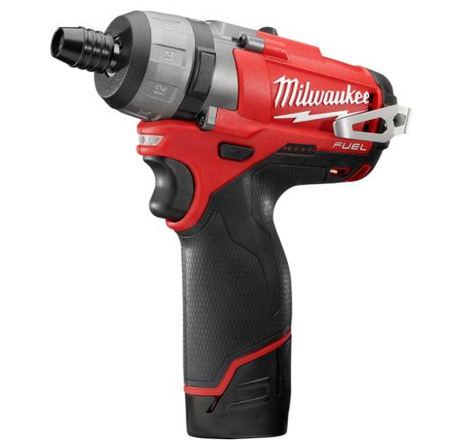 Milwaukee 4933440568 M12 CD-202C 12V Fuel Compact Cordless Screwdriver (2 x 2.0ah Batteries) - 8