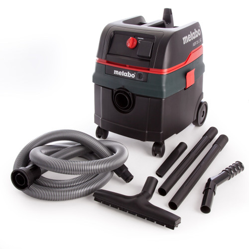 Metabo ASR25LSC All-Purpose Vacuum Cleaner 110V with Electromagnetic Shaking and Automatic Power On - 4