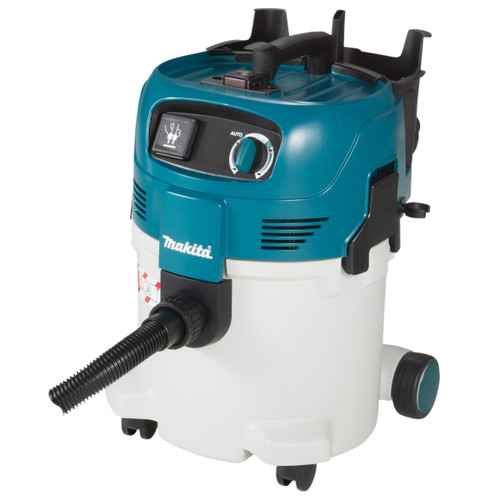Buy Makita VC3012M Wet and Dry M Class 30L Dust Extractor Vacuum Cleaner 240V (with power take off) at Toolstop