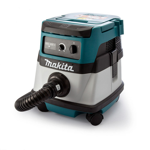 Makita DVC861LZ Dust Extractor Twin 18V Cordless or Corded L Class 240V - 5