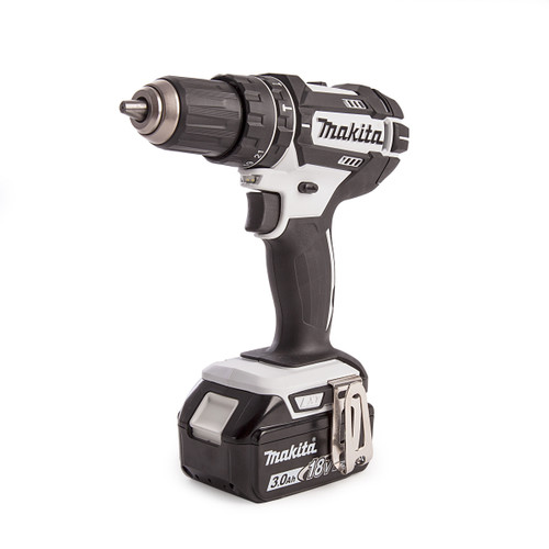 Makita DHP482RFWJ 18V LXT White Combi Drill (2 x 3.0Ah Batteries) - 2